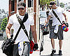 Pictures of Kellan Lutz Leaving Gym in LA