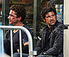 Slide Picture of Shia LaBeouf and Patrick Dempsey Filming Transformers