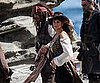 Slide Picture of Johnny Depp and Penelope Cruz Filming Pirates in Hawaii
