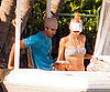 Slide Picture of Enrique Iglesias and Anna Kournikova Bikini