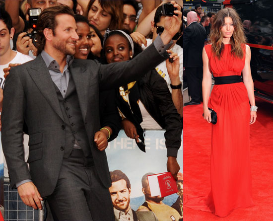 Jessica Biel and Bradley Cooper at A-Team UK Premiere 2010-07-27 19:30:00