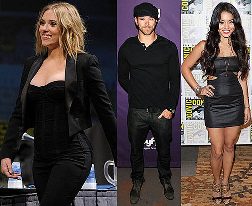 Pictures of Ali Larter, Scarlett Johansson, Anna Paquin, Stephen Moyer, and More at Comic-Con