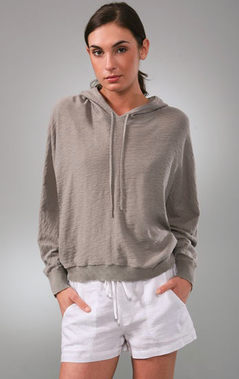 Hooded Dolman Sweater, approx $115 (on sale), Vince from Shopbop