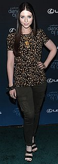 Michelle Trachtenberg Spotted Wearing a Chanel Necklace