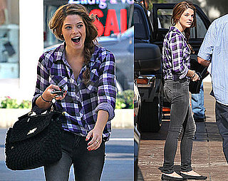 Pictures of Ashley Greene Apartment Hunting in LA