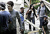 Pictures of James Franco and Freida Pinto Shooting Rise of the Apes