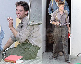 Pictures of Robert Pattinson Filming Water For Elephants 2010-07-28 08:19:15
