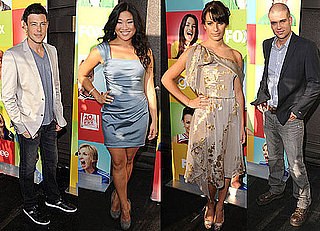 Pictures of Glee Cast Lea Michele, Cory Monteith, Matthew Morrison, Jayma Mays, Chris Colfer, Mark Salling in Hollywood