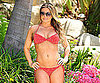 Slide Picture of Carmen Electra in Bikini in Malibu