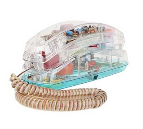 Retro Clear Phone From Urban Outfitters