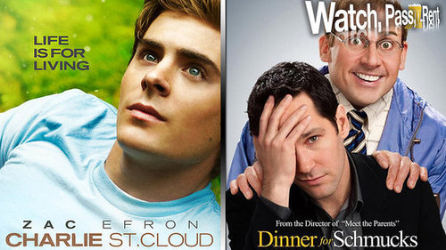 Charlie St. Cloud Movie Review and Dinner For Schmucks Movie Review
