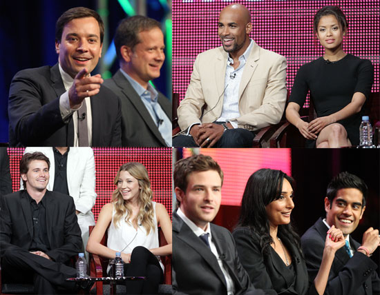 Pictures of NBC TCA Panels