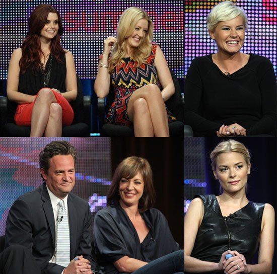 Pictures of Matthew Perry, Elisha Cuthbert, Joanna Garcia, Jaime King and More From ABC TCA Panel