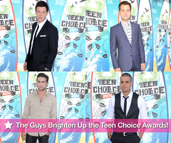 The Guys Brighten Up the Teen Choice Awards!