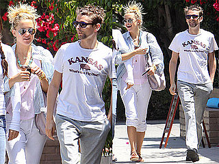 Pictures of Kate Hudson and Matthew Bellamy Getting Brunch in LA