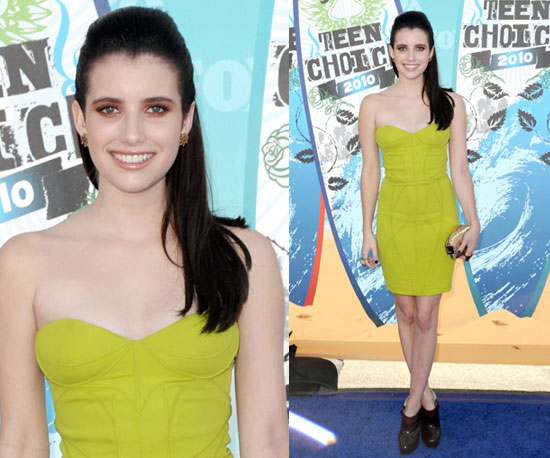 Emma Roberts at 2010 Teen Choice Awards 2010-08-08 17:15:42