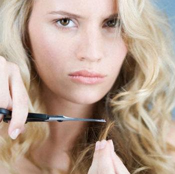 Straightening Damaged Hair