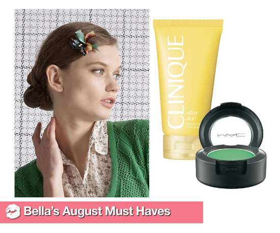 Bella&#039;s August Must Haves