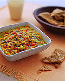 Warm Red-Lentil Dal With Pita Chip Recipe