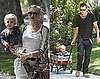 Gwen Stefani, Gavin Rossdale, and the Boys Spend a Day at Grandma and Grandpa's