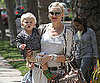 Slide Picture of Gwen Stefani With Zuma in LA