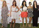 Rachel Zoe, Ashley Greene, the Kardashian Sisters and More at Super Saturday