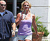 Slide Picture of Britney Spears Getting Starbucks in LA