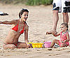 Slide Picture of Alessandra Ambrosio and Anja in Maui