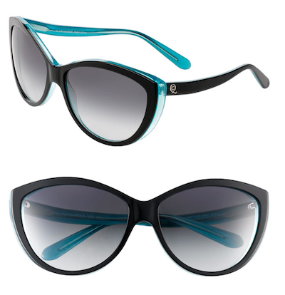 Alexander McQueen Two Tone Cat's Eye