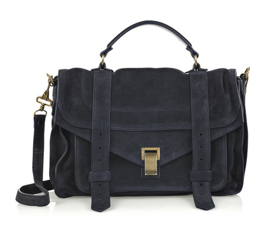 Proenza Schouler PS1 Medium Suede Satchel