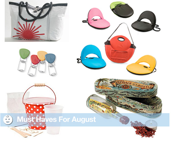 Must Haves For August