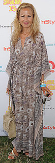 Rachel Zoe Wears Long Floral Dress to Super Saturday