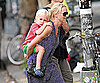 Slide Picture of Naomi Watts With Sam in New York