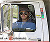 Slide Picture of Kellan Lutz Driving U Haul in LA