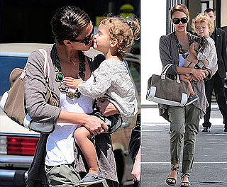 Jessica Alba and Honor Share Crafts and Cuddles in LA