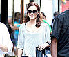 Slide Picture of Leighton Meester Filming Gossip Girl in New York 2010-08-04 12:25:00