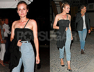 Pictures of Diane Kruger With Joshua Jackson in LA