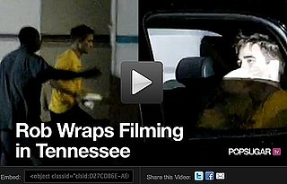 Video: Robert Pattinson Wraps Filming in Tennessee