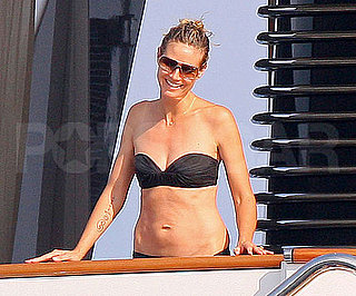 Slide Picture of Heidi Klum in Bikini in Italy