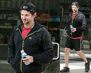 Bradley Cooper Fits In a Solo Workout in LA