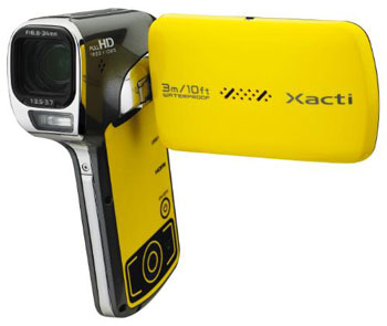 Waterproof Digital Camcorder From Sanyo