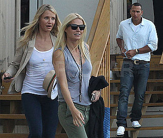 Pictures of Cameron Diaz, Alex Rodriguez and Gwyneth Paltrow in NYC