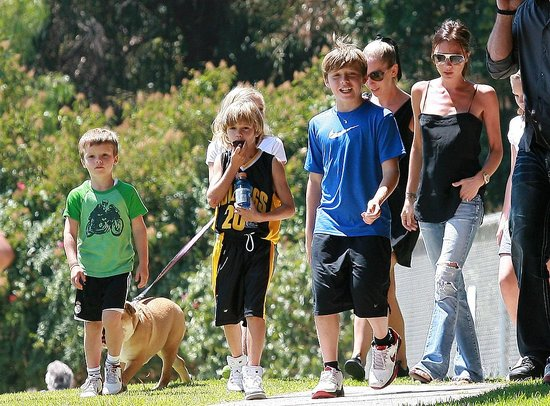 Photos of the Beckhams