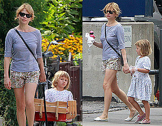Pictures of Michelle Williams With Matilda Ledger in Canada