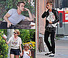 Pictures of Ryan Gosling at a Photo Shoot in LA With Michelle Williams and Matilda Ledger