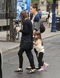 Pictures of Katie and Suri