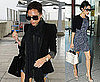 Pictures of Victoria Beckham at Heathrow Airport After Emergency Landing Of Her Plane