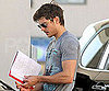 Slide Picture of Zac Efron Filling Up His Tank in LA