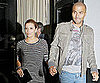 Slide Picture of Eva Longoria and Tony Parker at Beso in LA