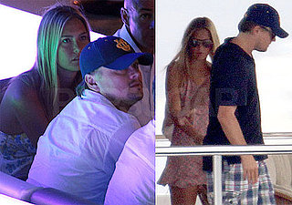 Pictures of Leonardo DiCaprio and Bar Refaeli Partying in Italy